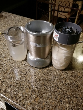 Coconut Milk in Nutribullet