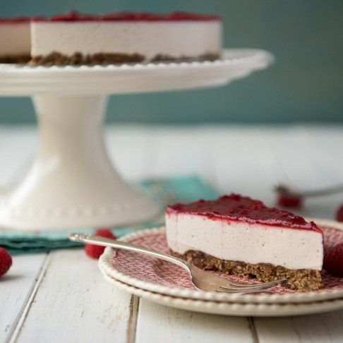 Dairy Free Coconut Milk Cheesecake -2