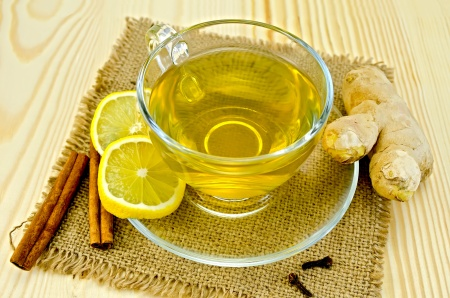 Lemon, Ginger, Nectar Tea