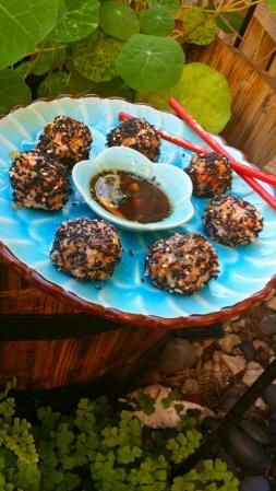 Vegan Sushi Balls